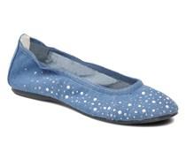 KAYLA 2 Ballerinas in blau