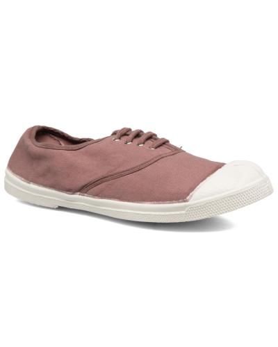 Tennis Lacets Sneaker in rosa