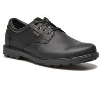 RGD BUC WP Plaintoe Schnürschuhe in schwarz