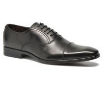 Regaliz Schnürschuhe in schwarz