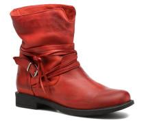 L.8.Pistilo Stiefeletten & Boots in rot