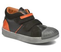 A061 Split Sneaker in schwarz