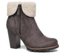 Claire F Stiefeletten & Boots in grau