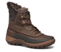 Sylva Mid Lace Waterproof Stiefeletten & Boots in braun
