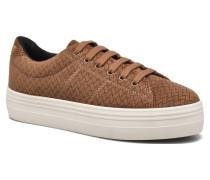 Plato Sneaker Velveta in braun