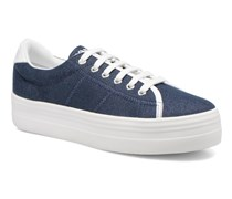Plato Sneaker Strass in blau