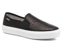Slip On Lino Detalle Marron Sneaker in schwarz