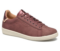 Mary Lace Up Sneaker in weinrot
