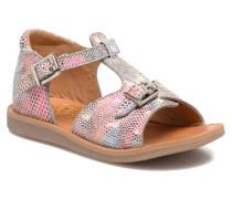 POPPY BUCKLE Sandalen in mehrfarbig