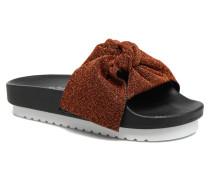 Net 78907 Sandalen in schwarz