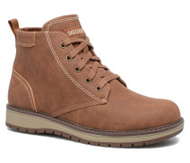 Gravlen Stiefeletten & Boots in braun