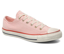 Chuck Taylor All Star Well Worn Ox W Sneaker in rosa