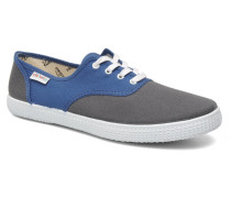 bicolore m Sneaker in blau