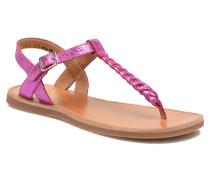 Plagette Antic Tong Sandalen in rosa