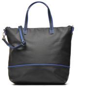 Cabas Zippé Grainé Handtaschen für Taschen in schwarz