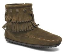 DOUBLE FRINGE BT Stiefeletten & Boots in grün