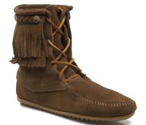 DOUBLE FRINGE TRAMPER Stiefeletten & Boots in braun