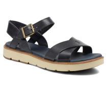 Bailey Park Cross Vamp Sandalen in blau