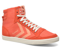 Ten Star Smooth Hi Sneaker in rot