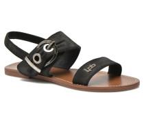 Pervenche Sandalen in schwarz
