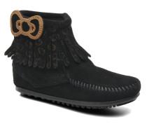 Hello Kitty Fringe Bootie Stiefeletten & Boots in schwarz