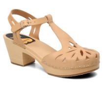 Lacy Sandal Sandalen in beige