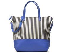 Cabas Zippé Rayé Handtaschen für Taschen in blau