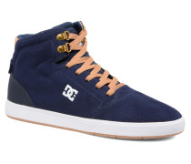 Crisis High Sneaker in blau