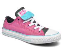 Chuck Taylor All Star Double Tongue Ox Kid Sneaker in lila