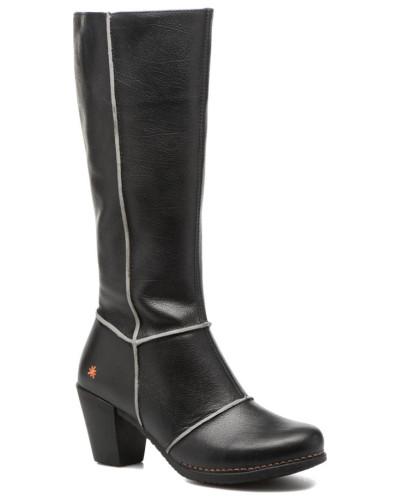Genova 479 Stiefel in schwarz