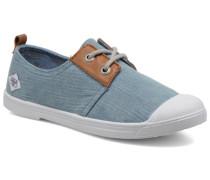 Basic 02 Fancy Sneaker in blau