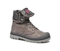 Baggy Fl K Stiefeletten & Boots in grau
