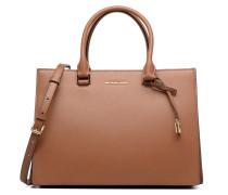 Sutton LG Gusset Satchel Handtaschen für Taschen in braun
