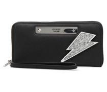 Britta SLG Large Zip Around Portemonnaies & Clutches für Taschen in schwarz