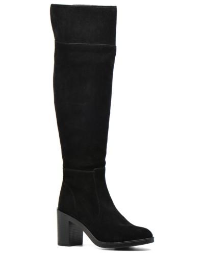 Shane Overknee Stiefel in schwarz