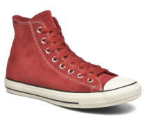 Chuck Taylor All Star Suede Hi M Sneaker in weinrot