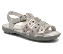 Cello Sandalen in silber