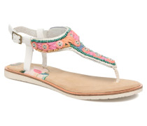 Maraca Sandalen in weiß