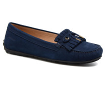 Harper Kiltie Tie Slipper in blau