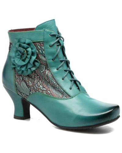 Candice 03 Stiefeletten & Boots in grün