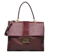 OMINI Porté travers Cuir Handtaschen für Taschen in weinrot