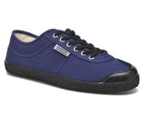 Basic Sneaker in blau