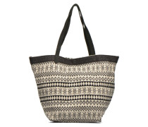 Flavia Shopper Cabas textile Handtaschen für Taschen in schwarz