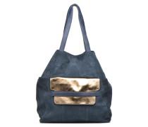PIXA Suede bag Handtaschen für Taschen in blau