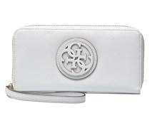 Carly Large Zip Around Portemonnaies & Clutches für Taschen in weiß