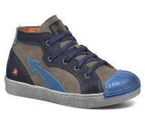 A060 Split Sneaker in blau