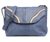 Imsa Leather Crossbody Handtasche in blau