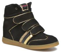 Manhattan Velcro Sneaker in schwarz