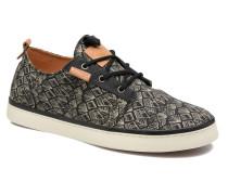 Free Print Sneaker in schwarz