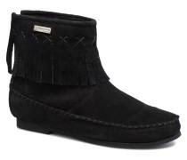 Crabe J Stiefeletten & Boots in schwarz